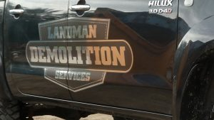 Landman Demolition Serives Qld