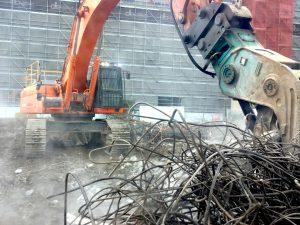 Building demolition Brisbane City